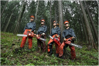日本の林業に若者たちが戻ってきた
