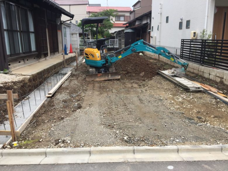 昭和区K様邸  造成、外構工事