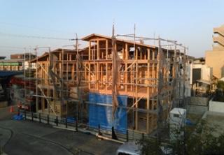 木造力を活かす。木造軸組.真壁の家