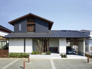 雨楽な家の屋根