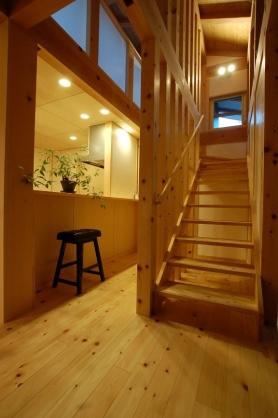 暮らしをつくる階段、