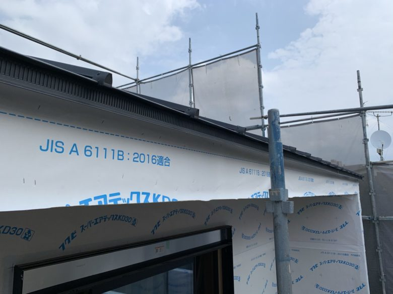 屋根工事・電気工事