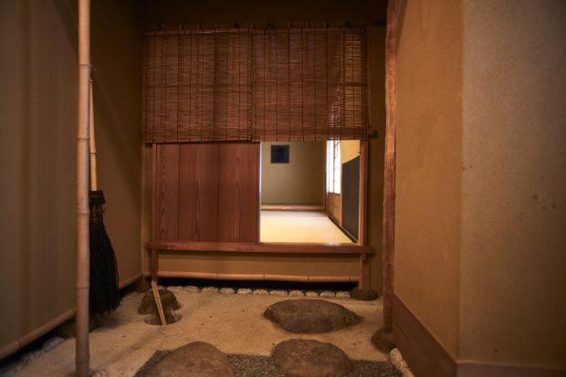 癒しの空間「茶室」