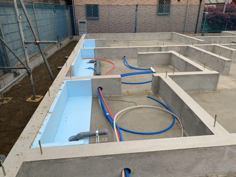 基礎・給排水配管