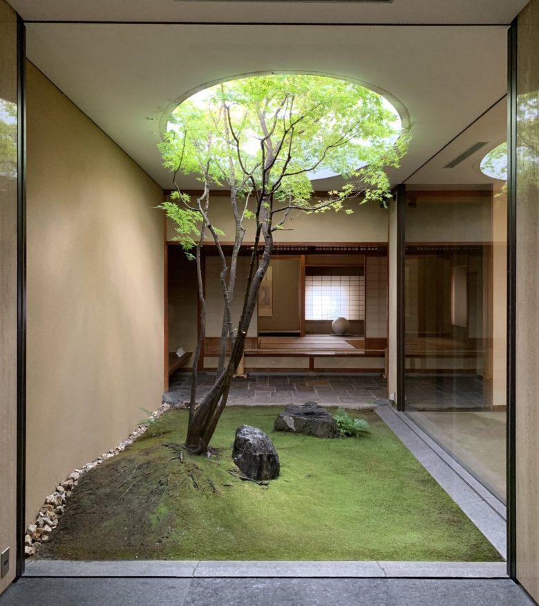 中庭(坪庭)で緑をとりこむ